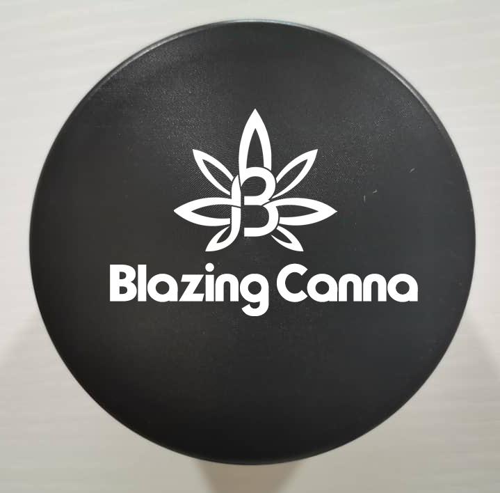 Blazing Canna Weed Grinder