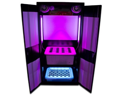 Supercloset Grow Box LED Deluxe 3.0 LED Grow Cabinet Hydroponics System