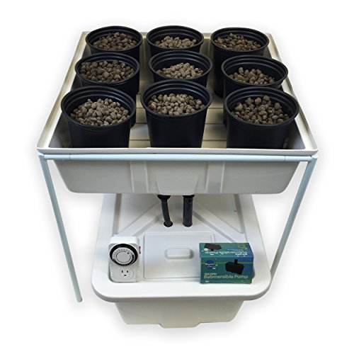 Viagrow V4X4COMP Ebb and Flow Hydroponic System Tray