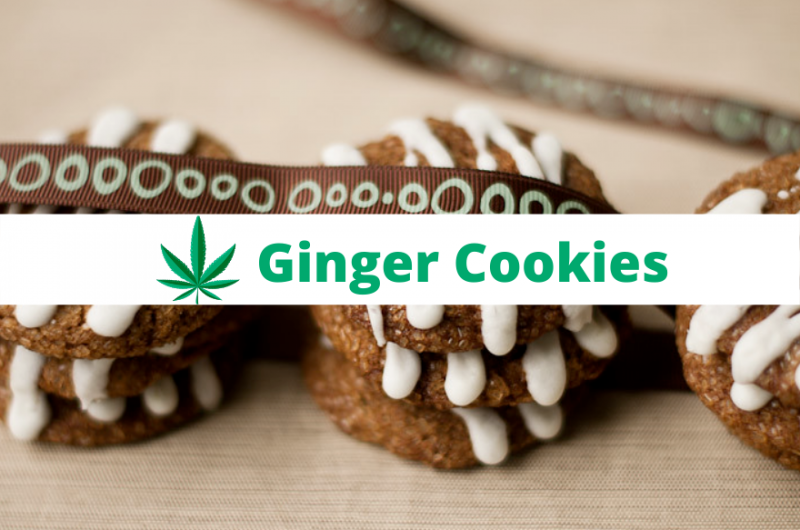 Ganja Ginger Cookies