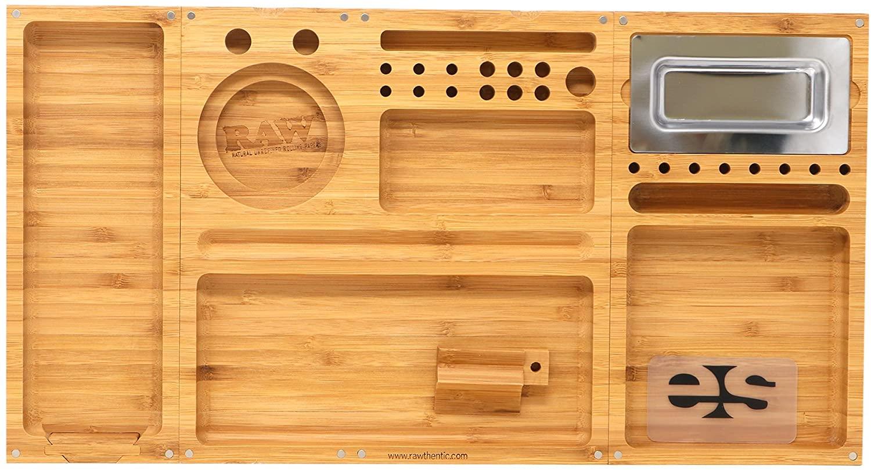 RAW Bamboo Magnetitc Foldable Tray